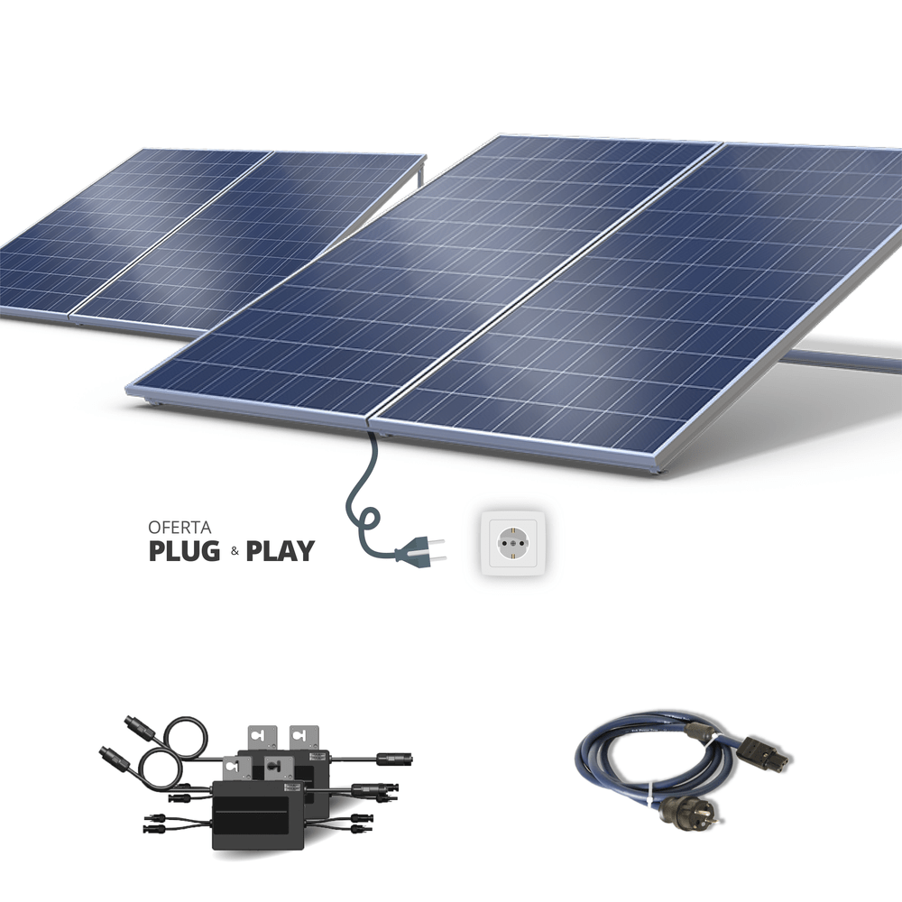 Kit Fotovoltaico - 500 WATTS