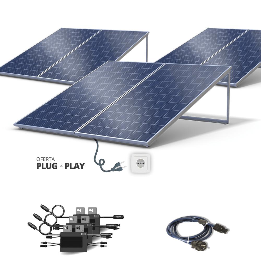 Kit Fotovoltaico - 1500 Watts