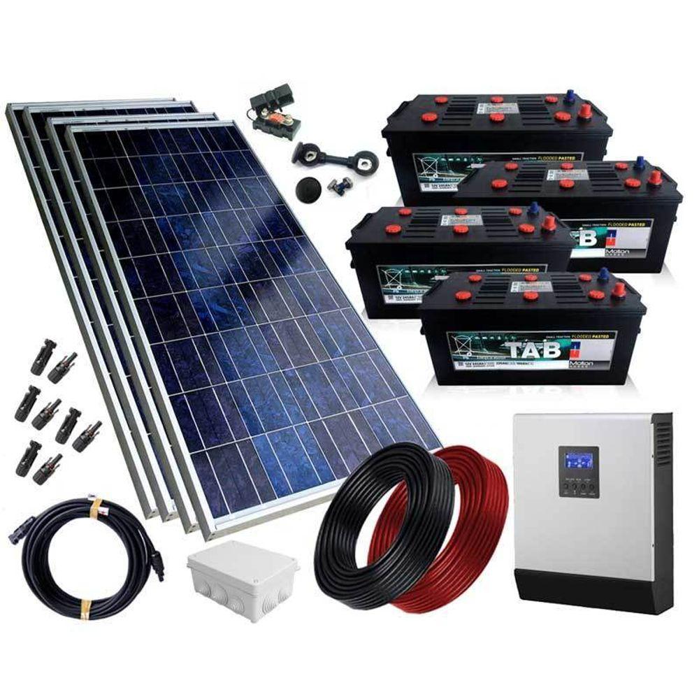 Kit Fotovoltaico Isolado